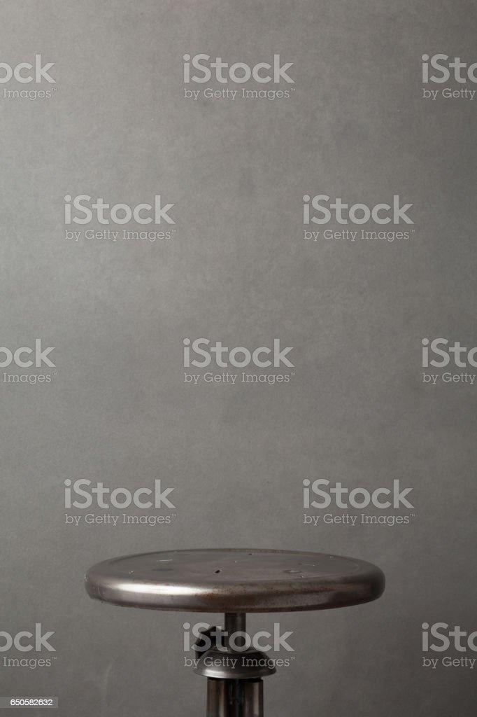 Posing Stool stock photo