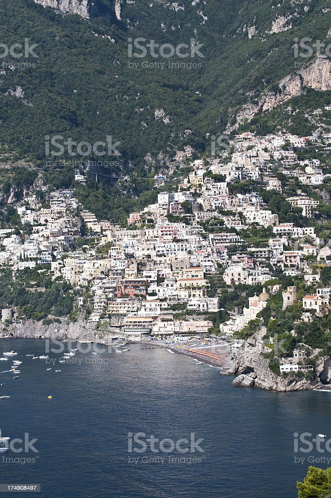 Positano - Amalfi Coast- Italy royalty-free stock photo