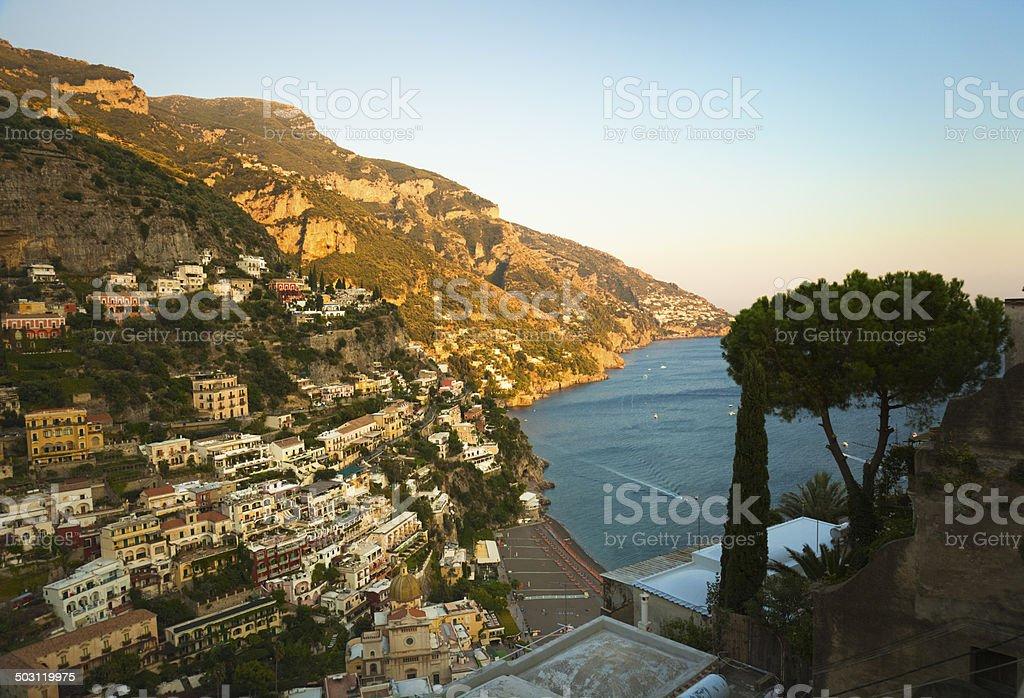 Positano, Amalfi Coast, Italy royalty-free stock photo