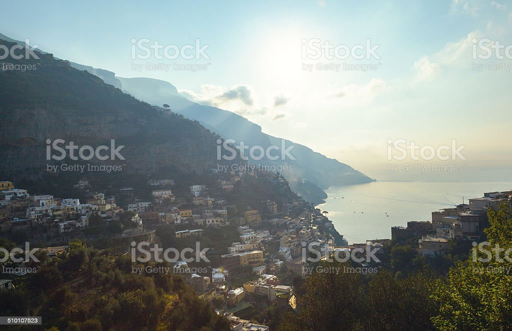 Positano, Amalfi Coast, Italy stock photo