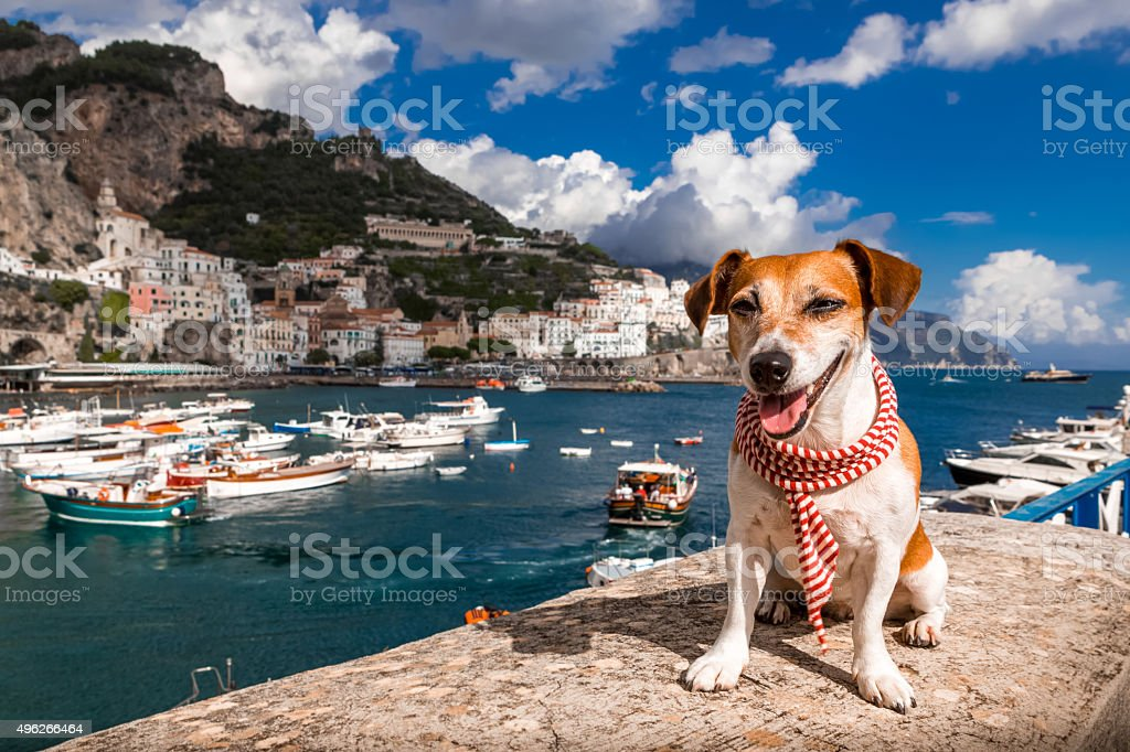 Positano, italy Amalfitana stock photo