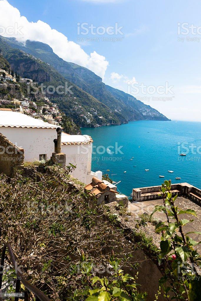 Positano, Amalfitan coast, Italy stock photo