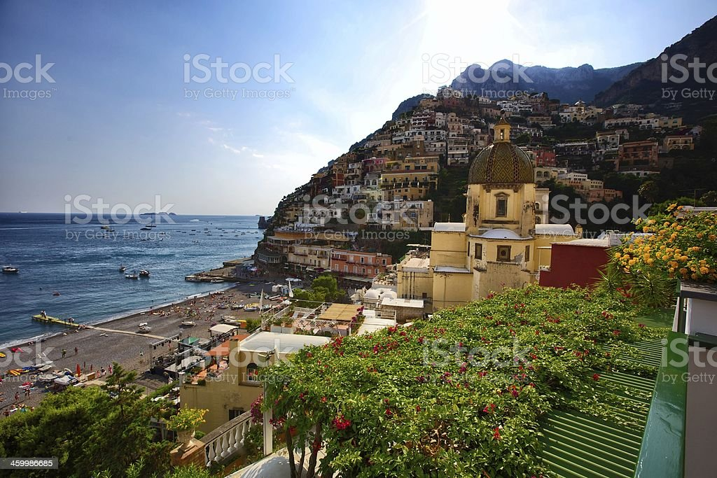 Positano royalty-free stock photo
