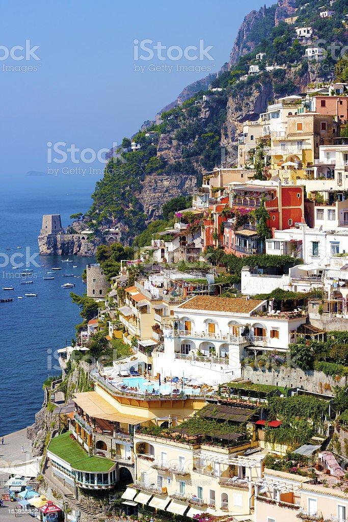 Positano, Italy royalty-free stock photo