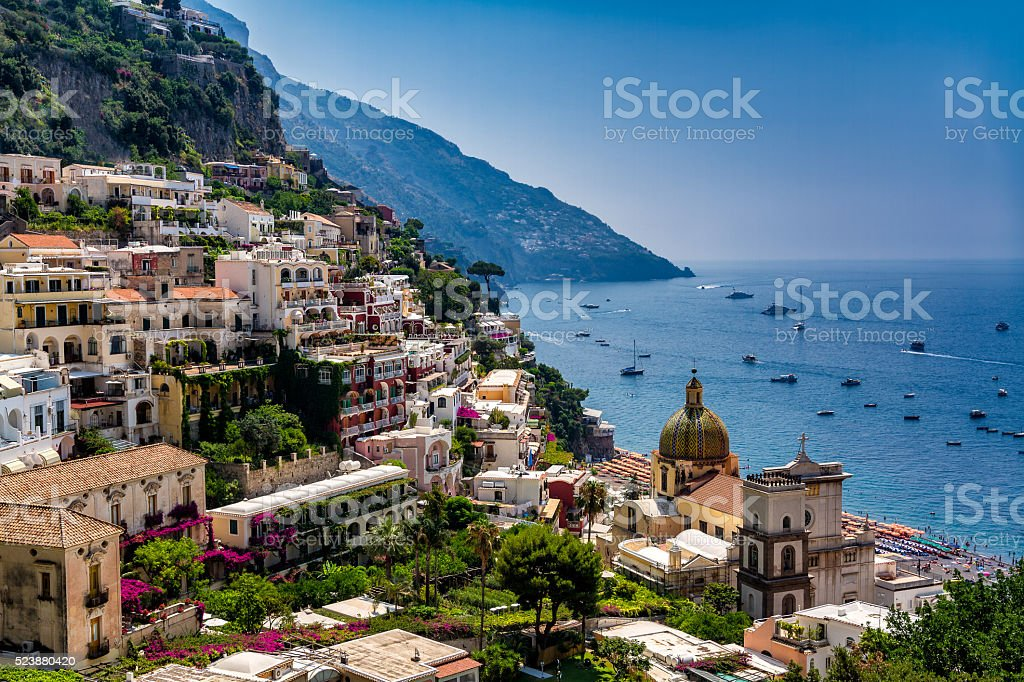 Positano, Italy stock photo