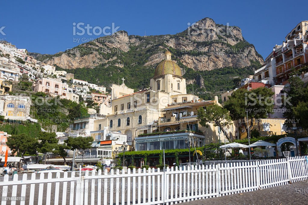 Positano on the Amalfi Coast, Italy royalty-free stock photo