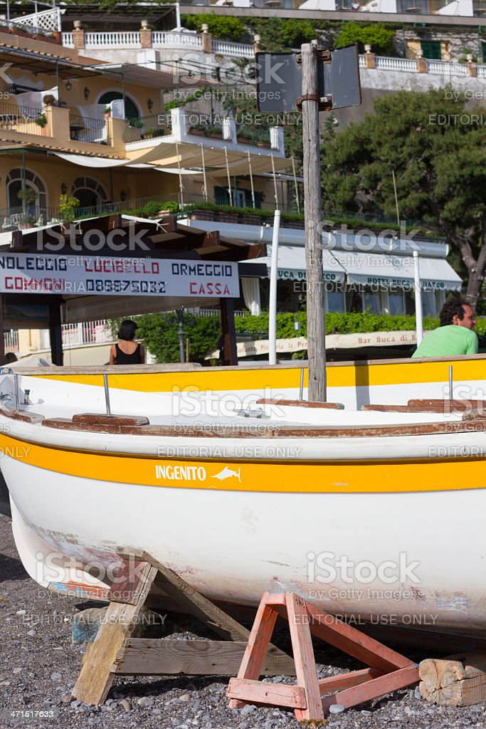 Positano on the Amalfi, Coast, Italy royalty-free stock photo