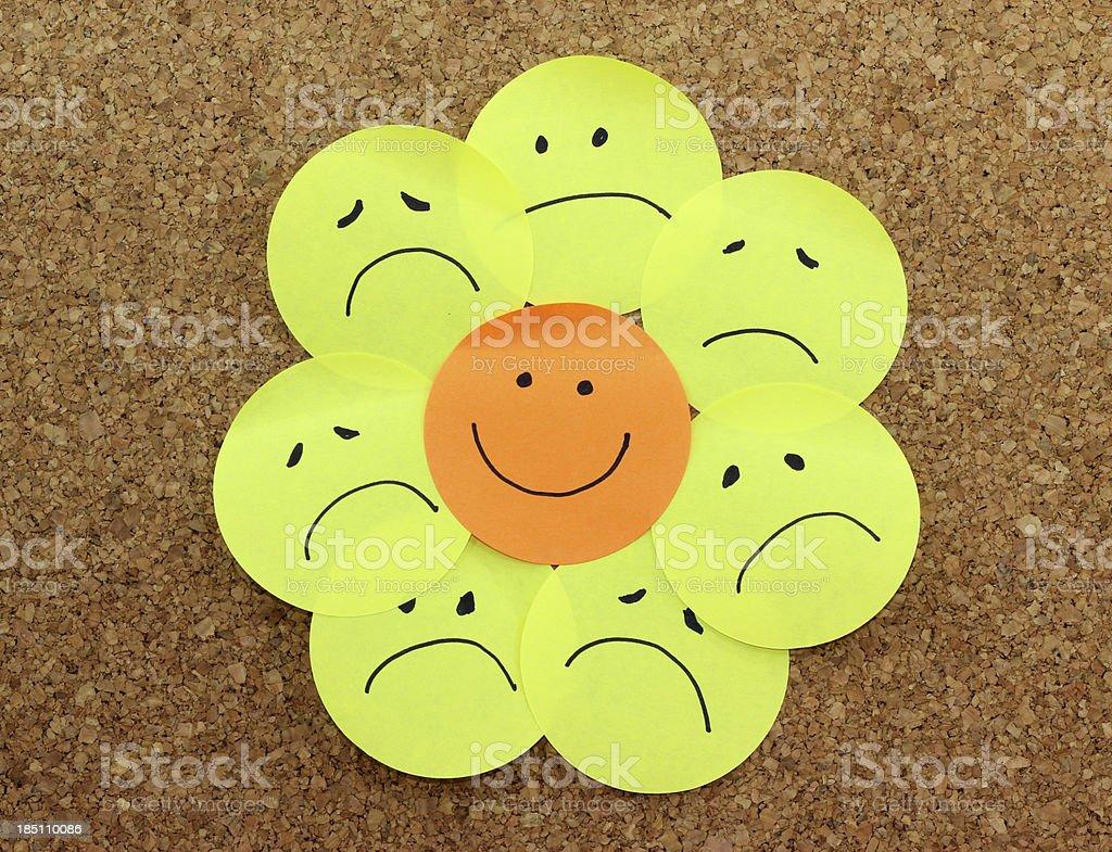 Positive attitude concept stock photo