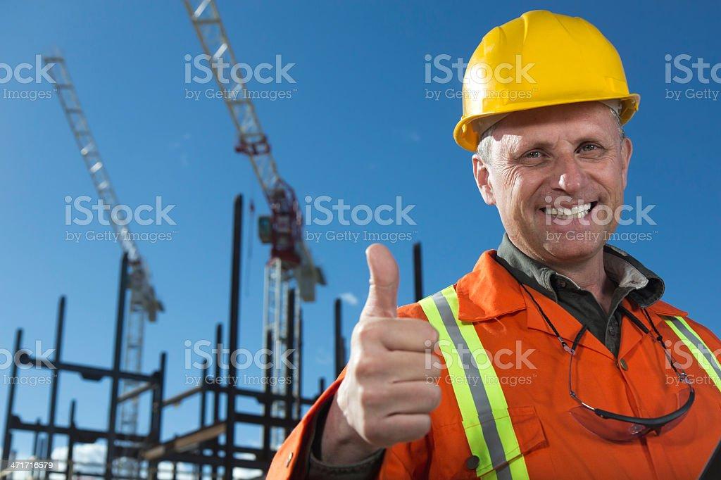 Positive Building Development royalty-free stock photo