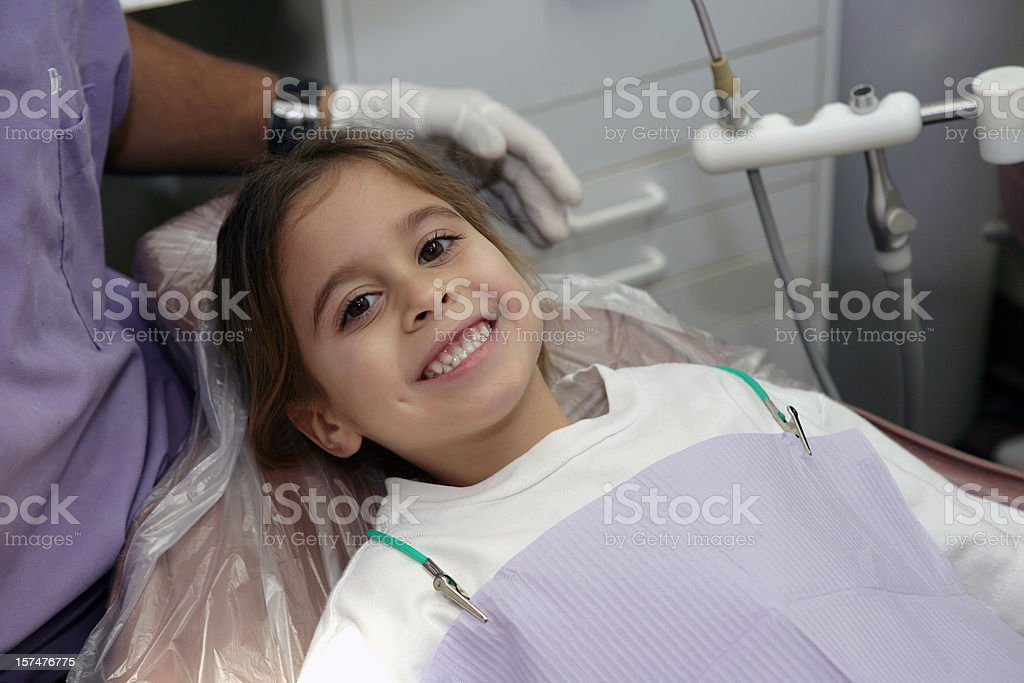 Positive Dental Experience royalty-free stock photo