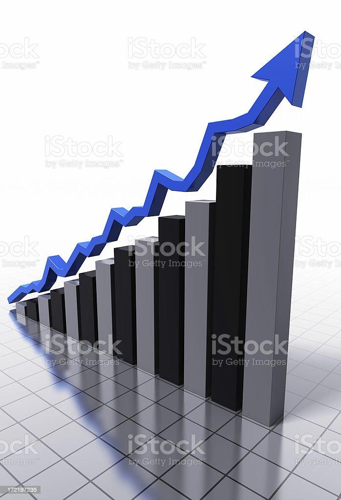 Positive Development royalty-free stock photo