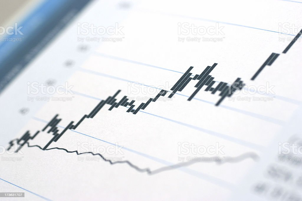 Positive Earnings royalty-free stock photo