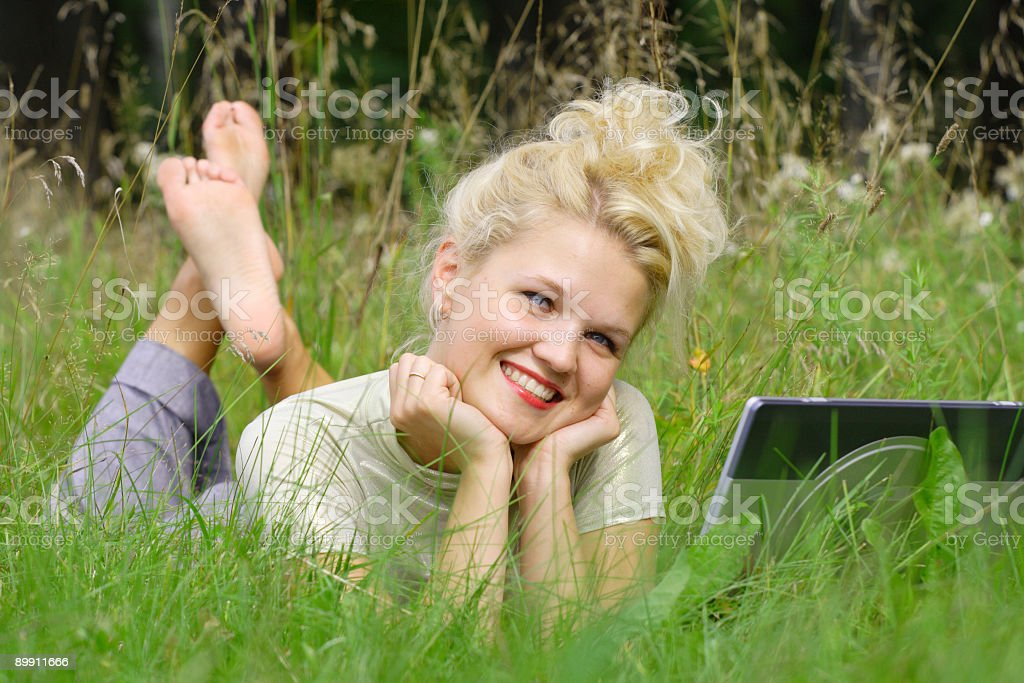 Positive emotions royalty-free stock photo