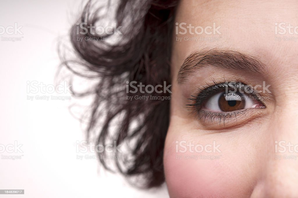 Positive expression royalty-free stock photo