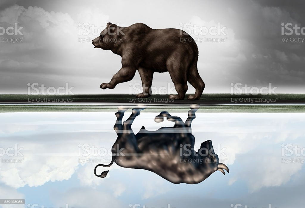 Positive Financial Outlook stock photo
