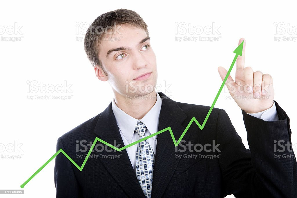 Positive Flow royalty-free stock photo