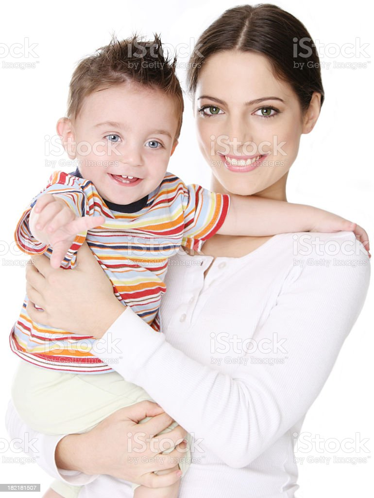 Positive parenting royalty-free stock photo
