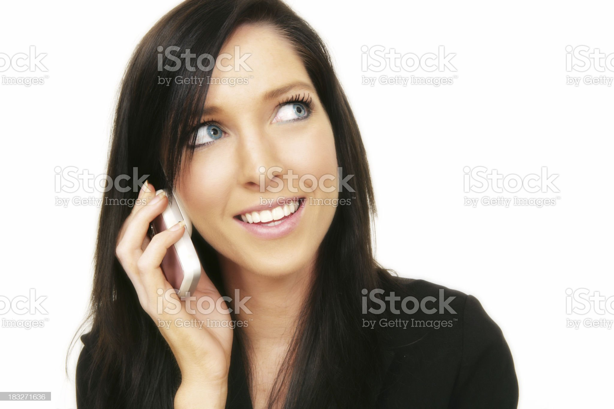 Positive Telecommunications royalty-free stock photo