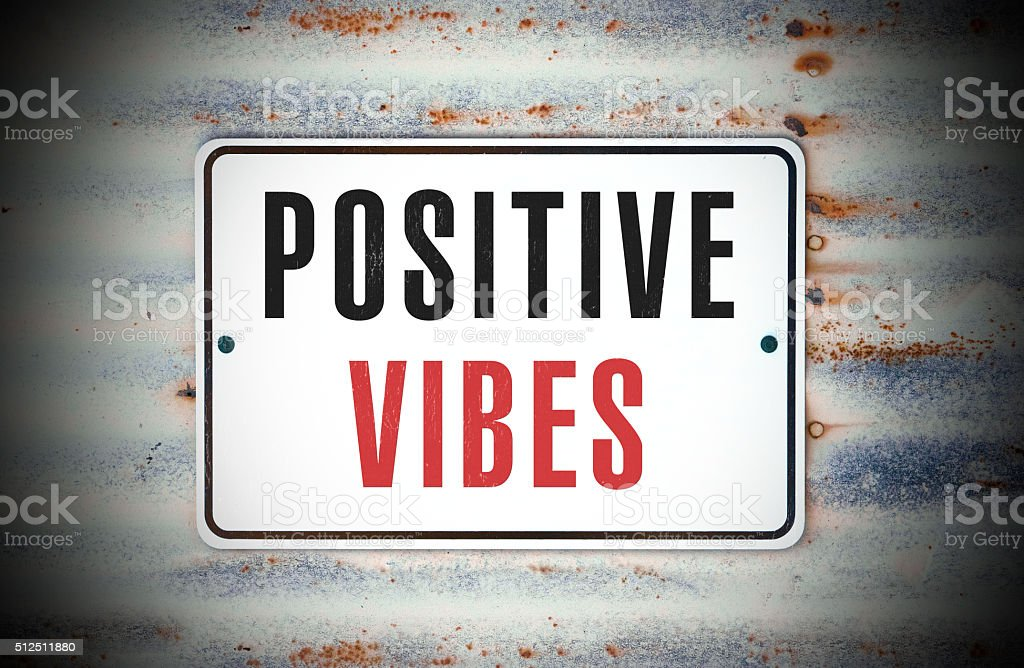 Positive Vibes stock photo