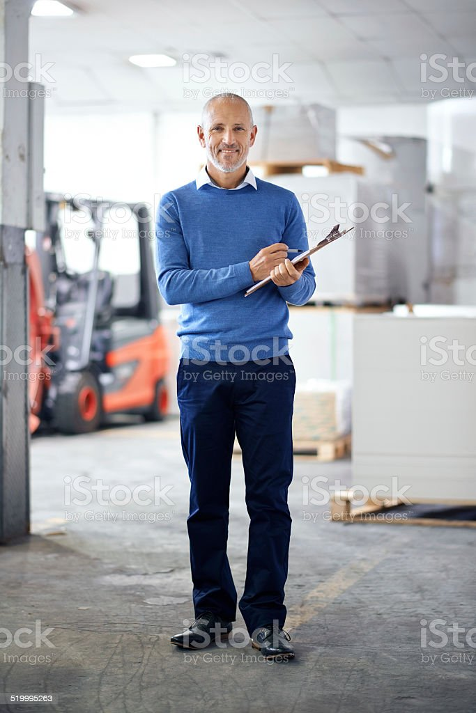 Positivity - The secret weapon to increased production! stock photo