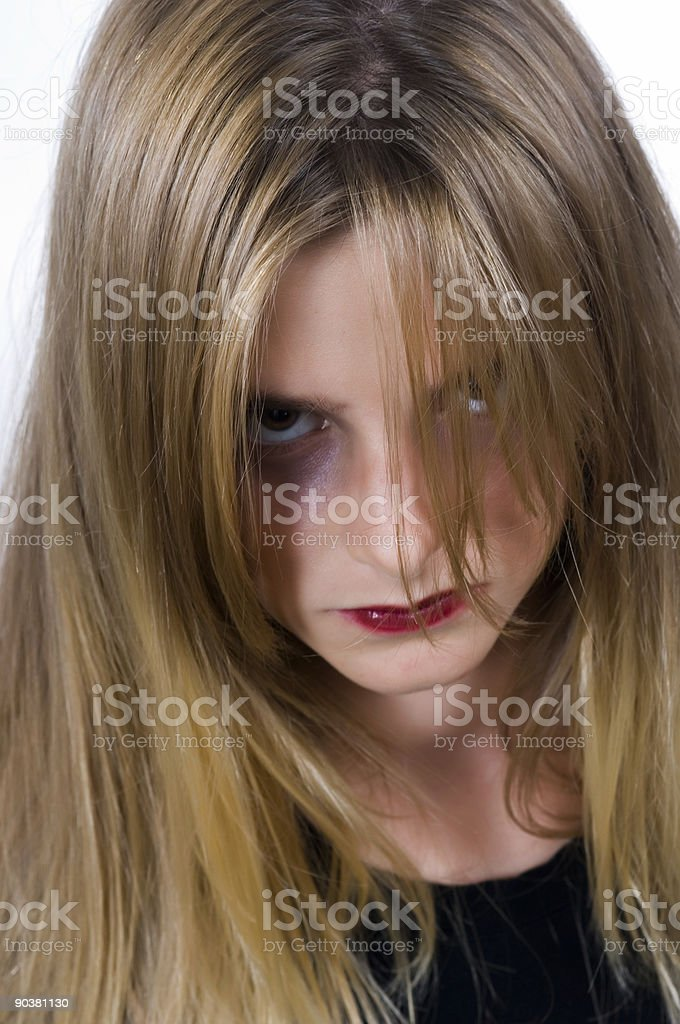 Possessed royalty-free stock photo