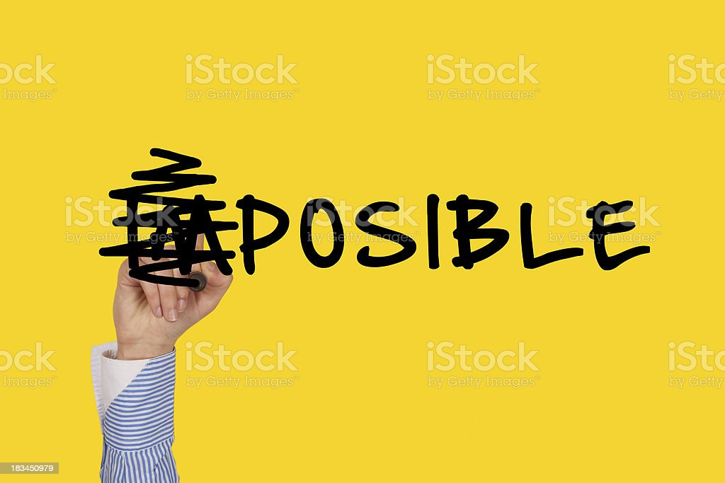 Possible royalty-free stock photo