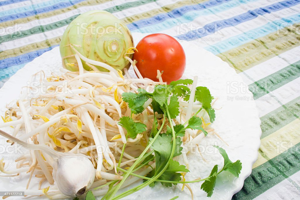 Possibly a Salad. royalty-free stock photo
