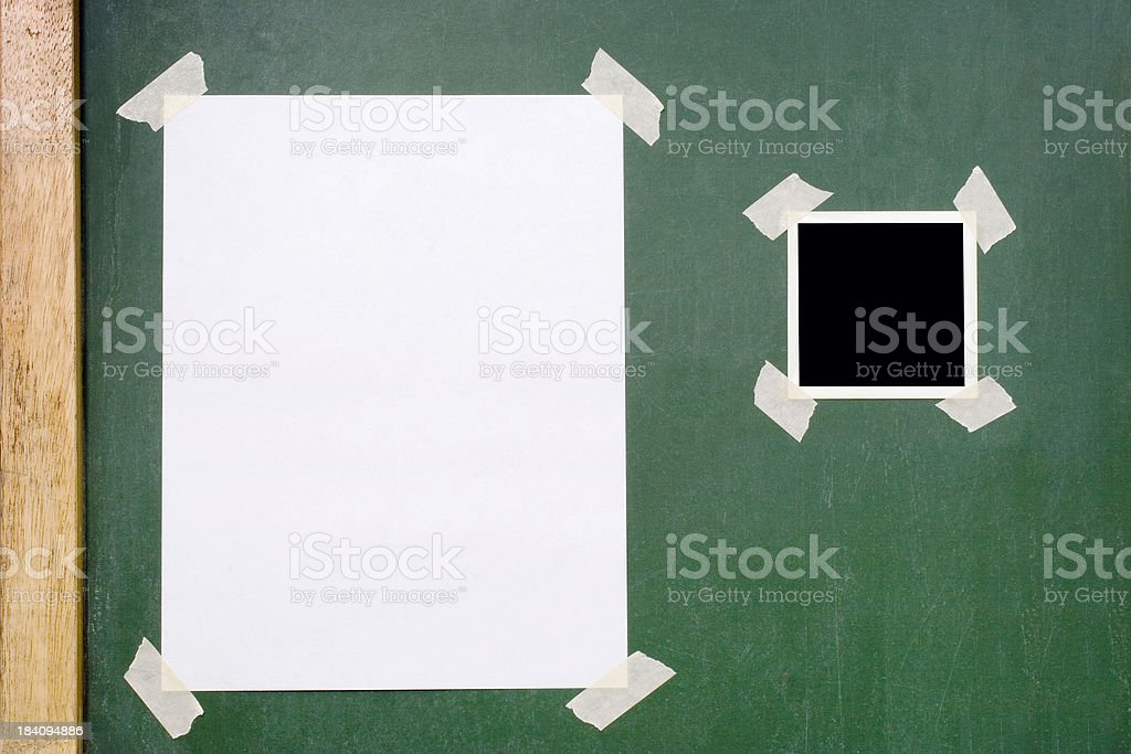 Post and Photo royalty-free stock photo