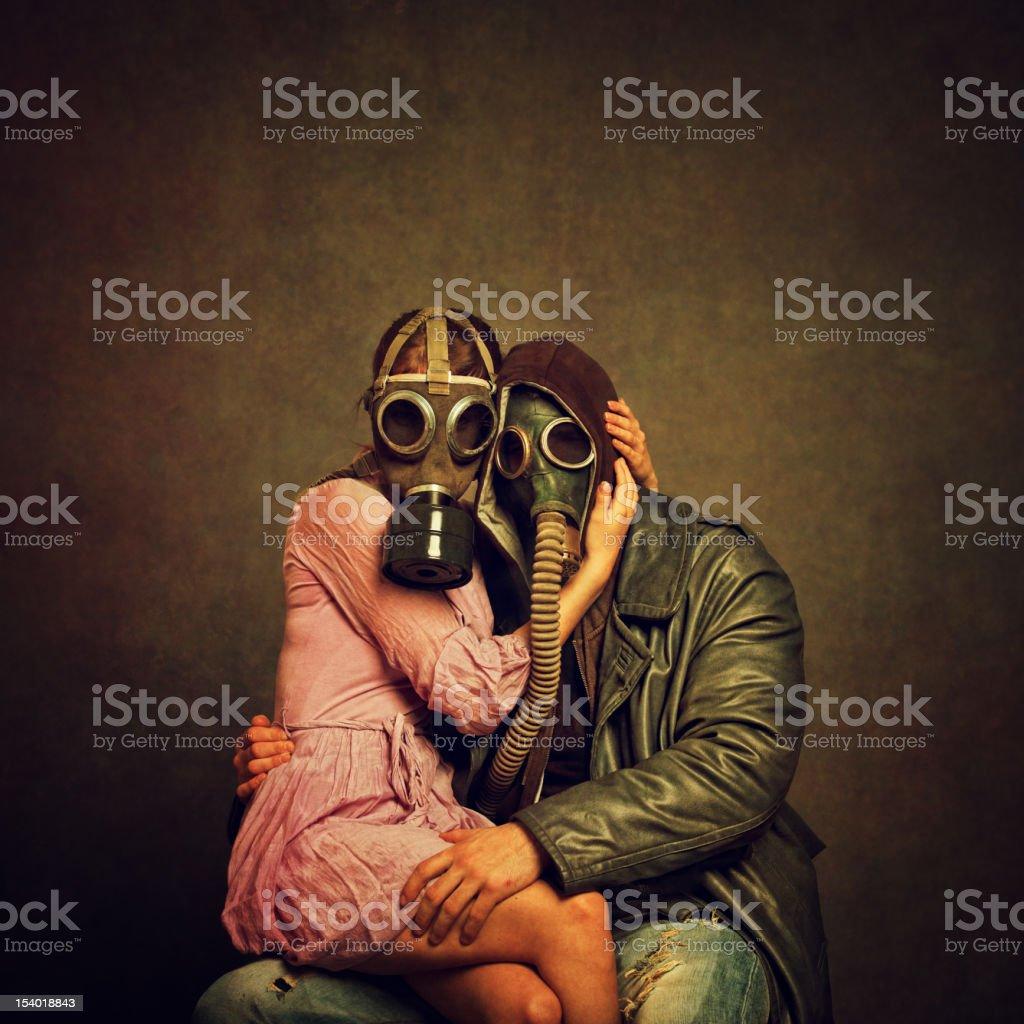 Post Apocalyptic Love stock photo