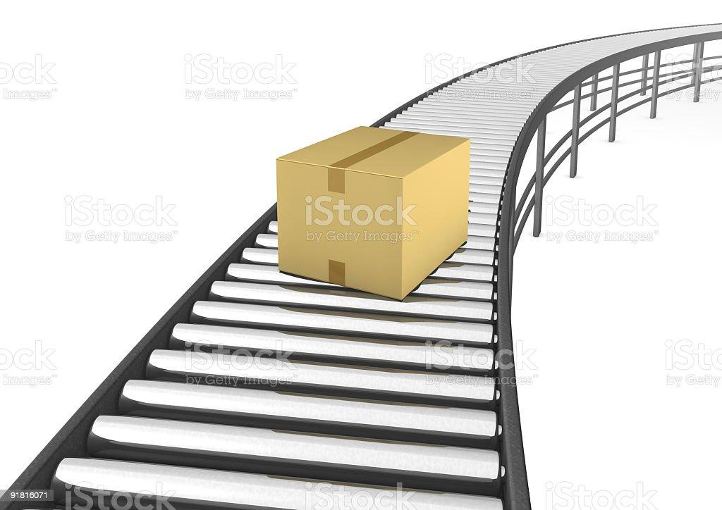 Post box royalty-free stock photo