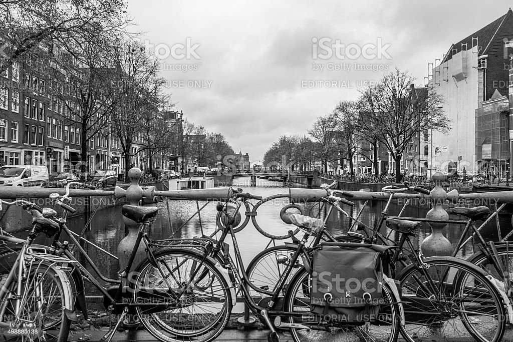 Post Card Perfect, Amsterdam, Netherlands stock photo