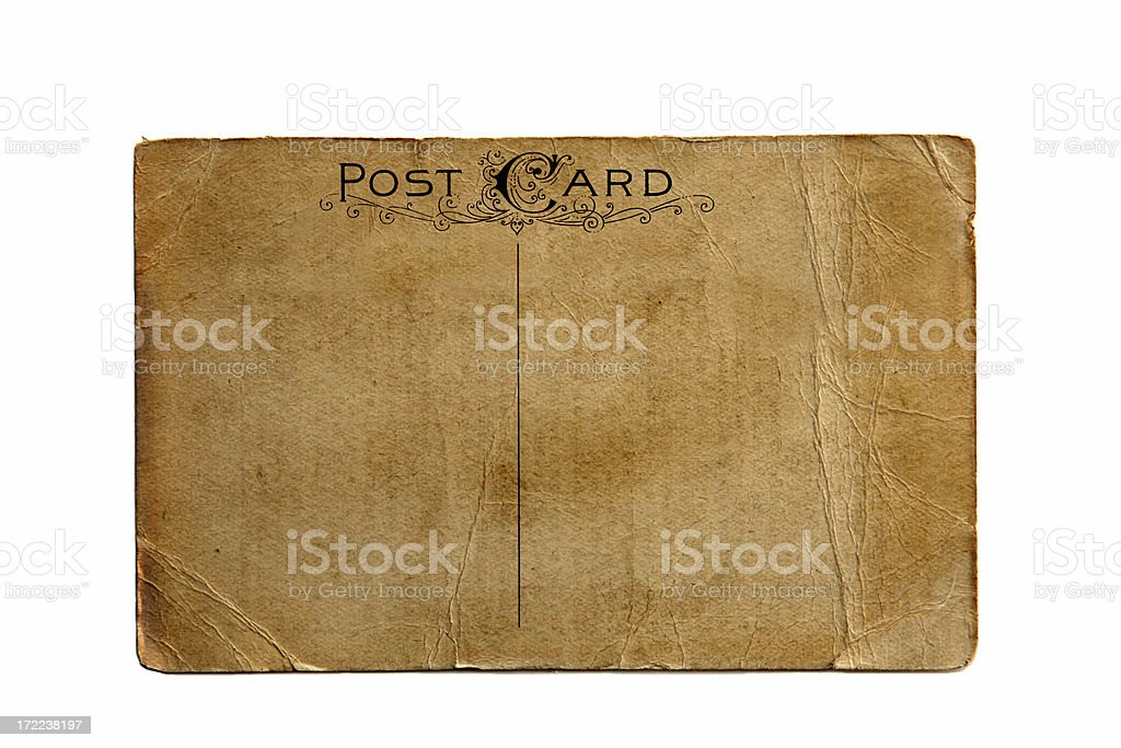 Post Card stock photo