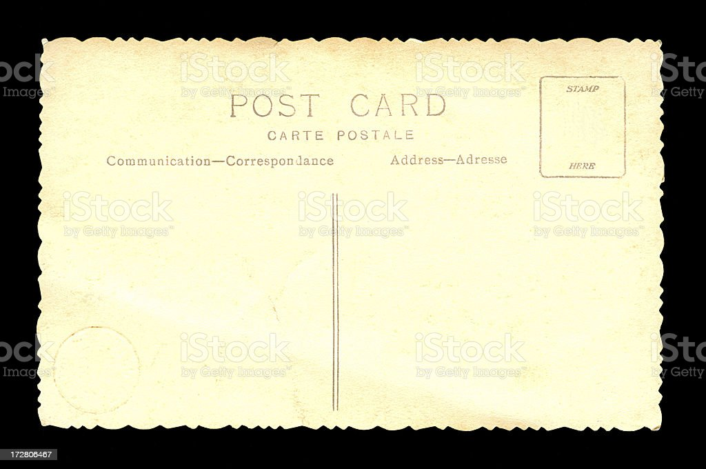 Post Card royalty-free stock photo