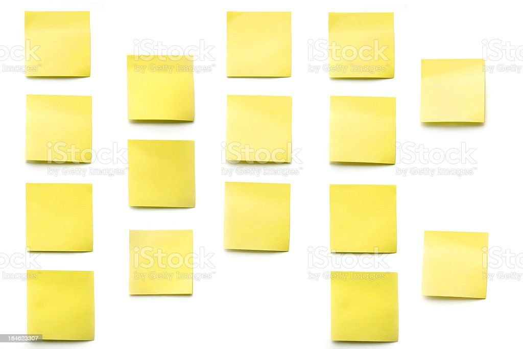 post its stock photo