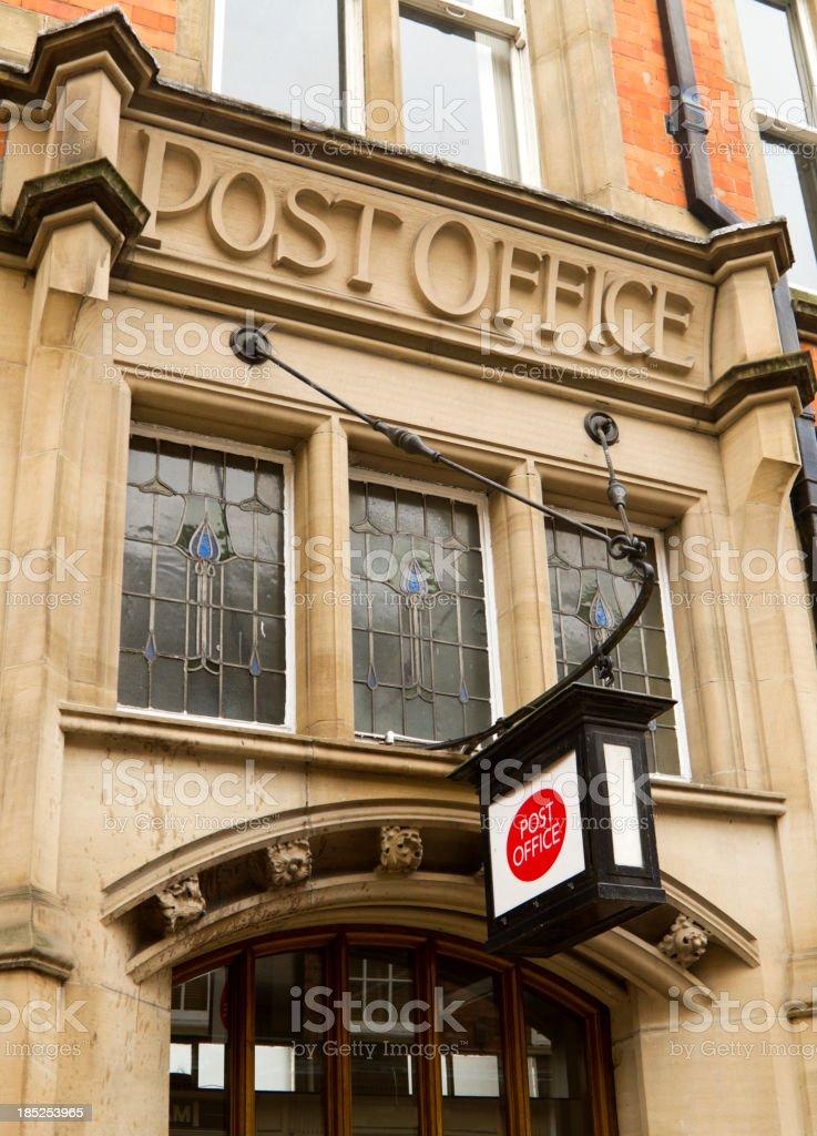 Post Office exterior, York stock photo