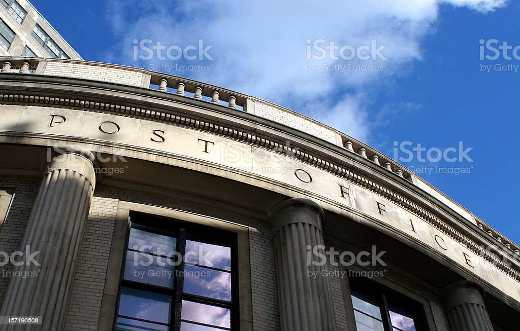 Post Office royalty-free stock photo