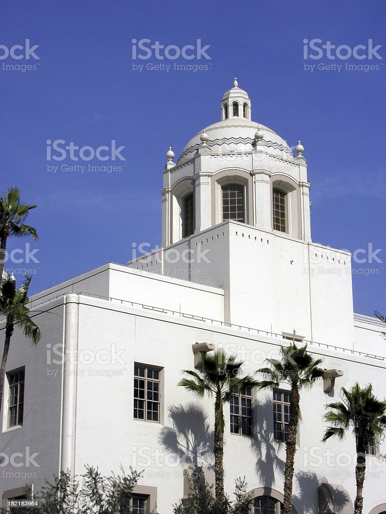 LA Post Office royalty-free stock photo