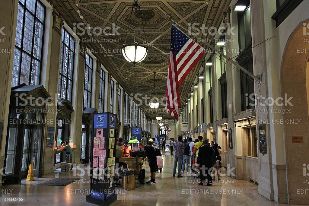 NY Post Office stock photo
