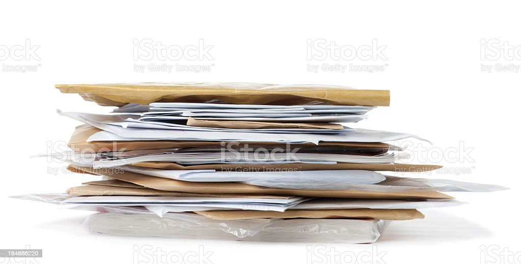 Post royalty-free stock photo