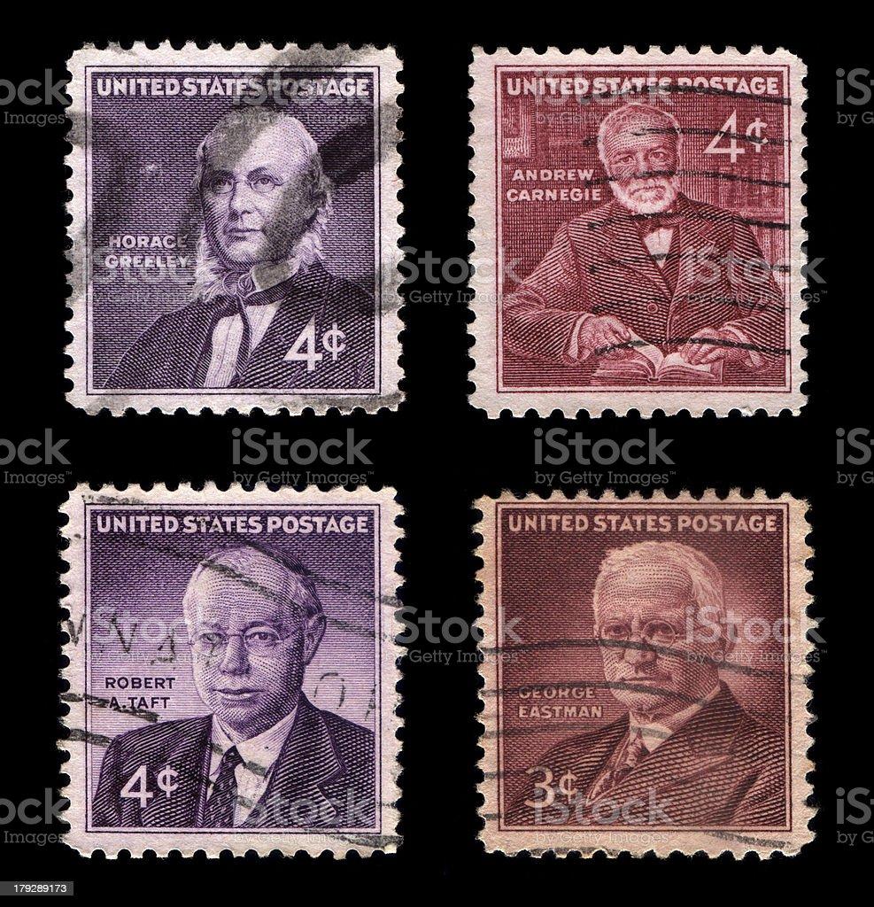 US Postage stock photo