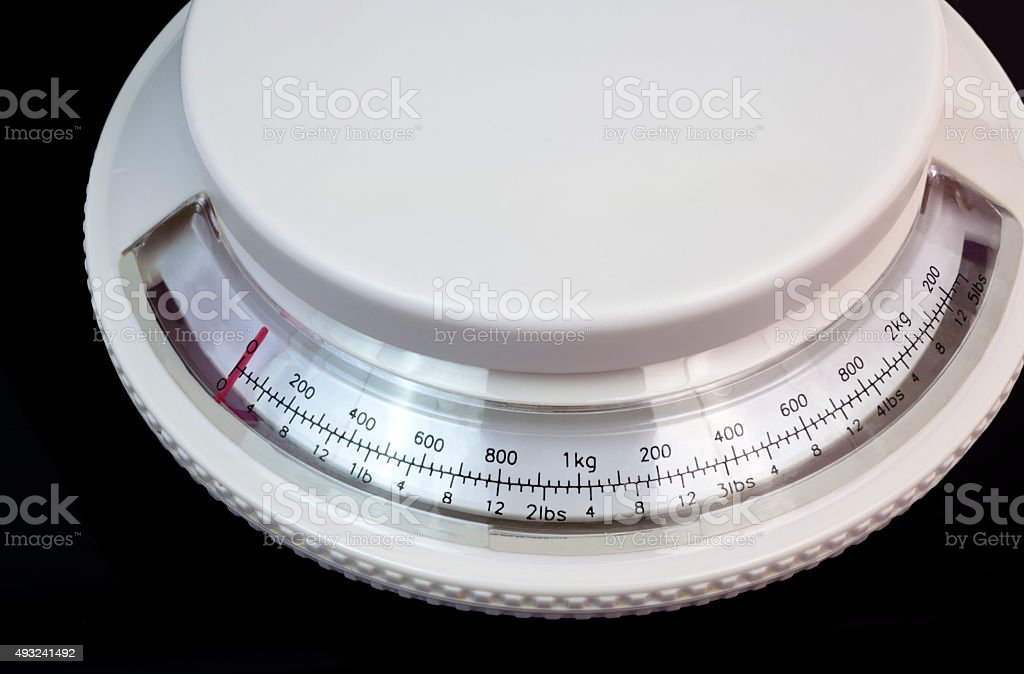 Postage Scale stock photo