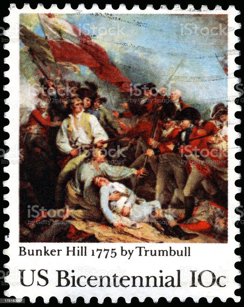 USA Postage Stamp stock photo