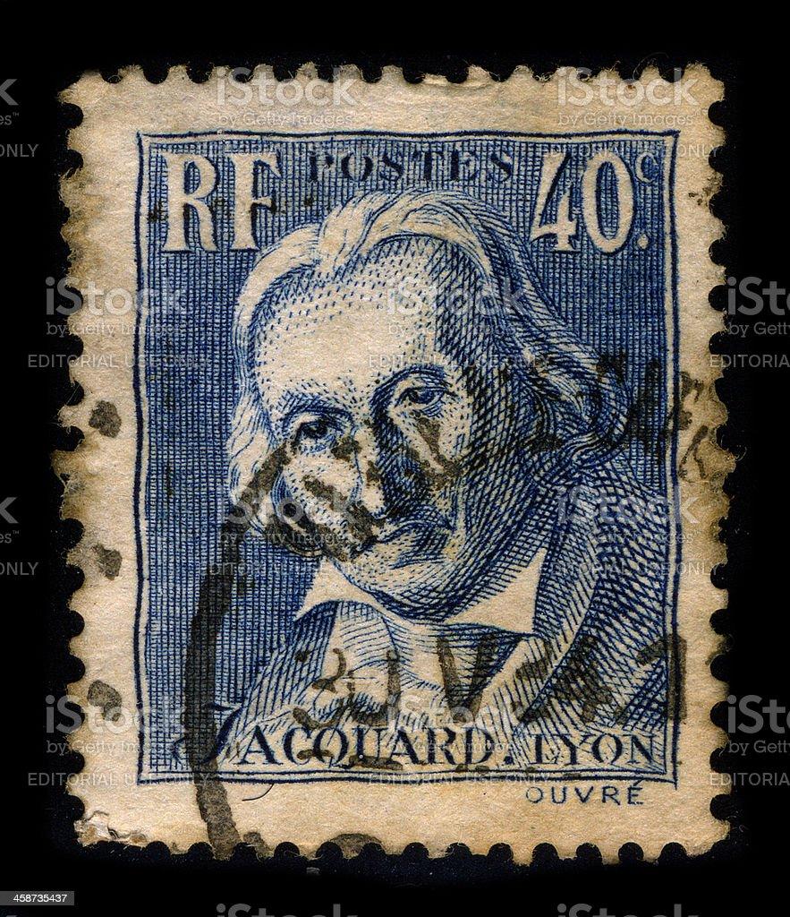 Postage stamp. royalty-free stock photo
