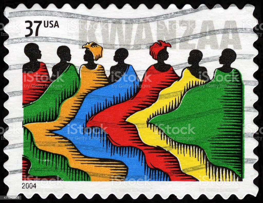 USA Postage Stamp stock photo