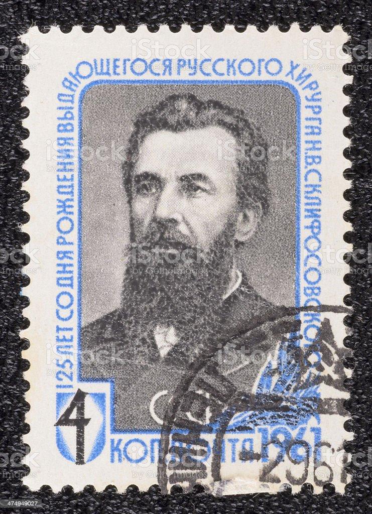 Postage stamp royalty-free stock photo