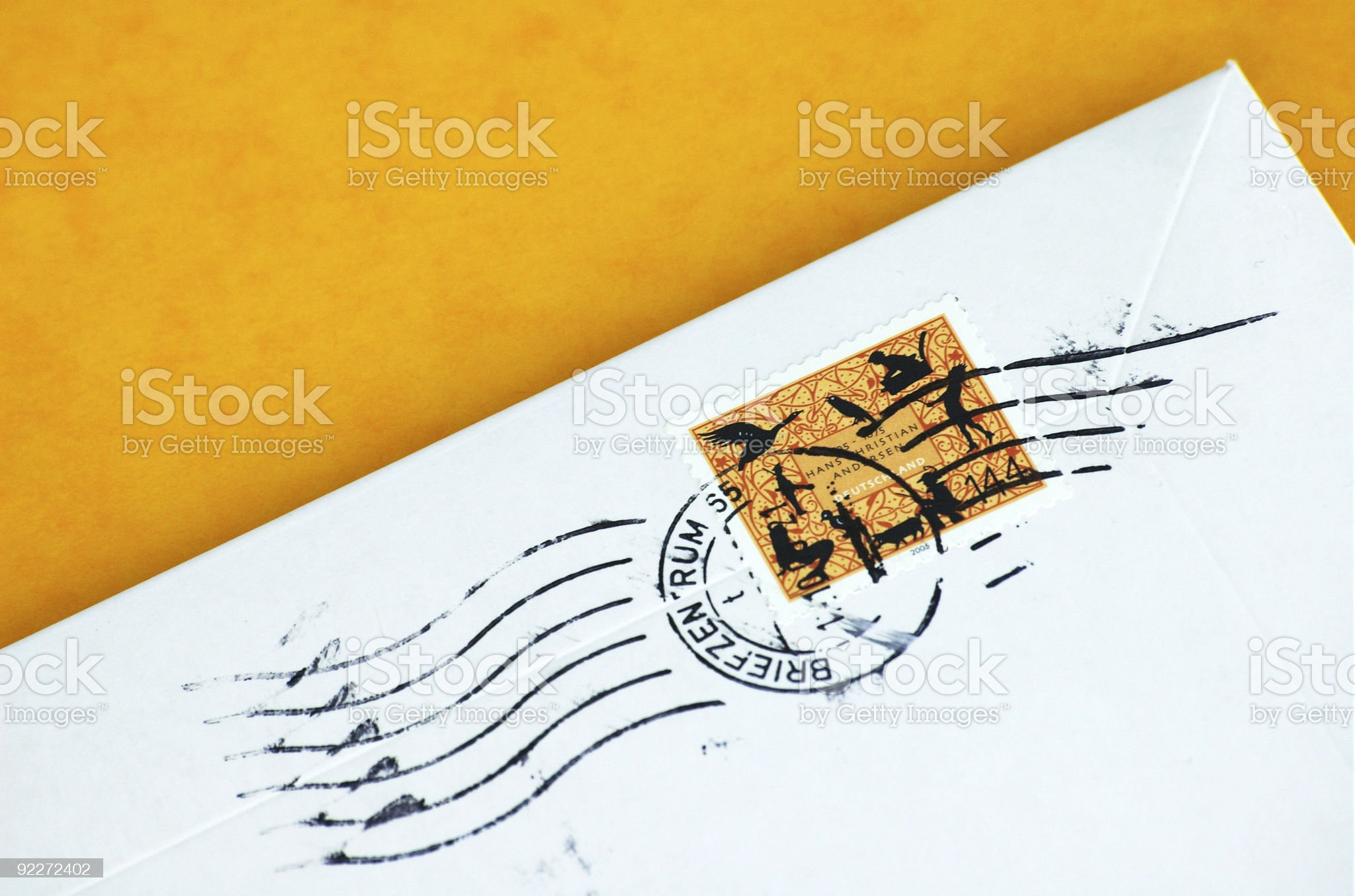 Postage Stamp royalty-free stock photo