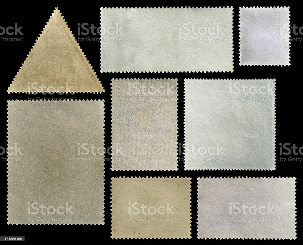 Postage Stamps royalty-free stock photo