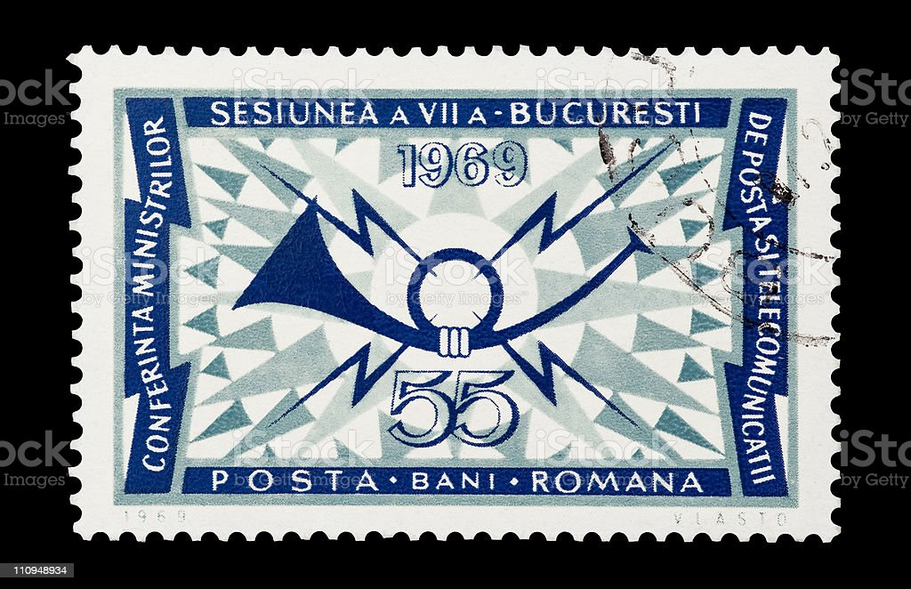 postal communications royalty-free stock photo