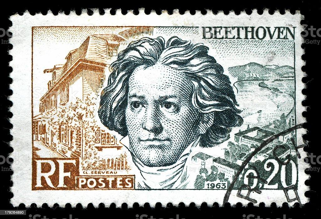 postal stamp stock photo