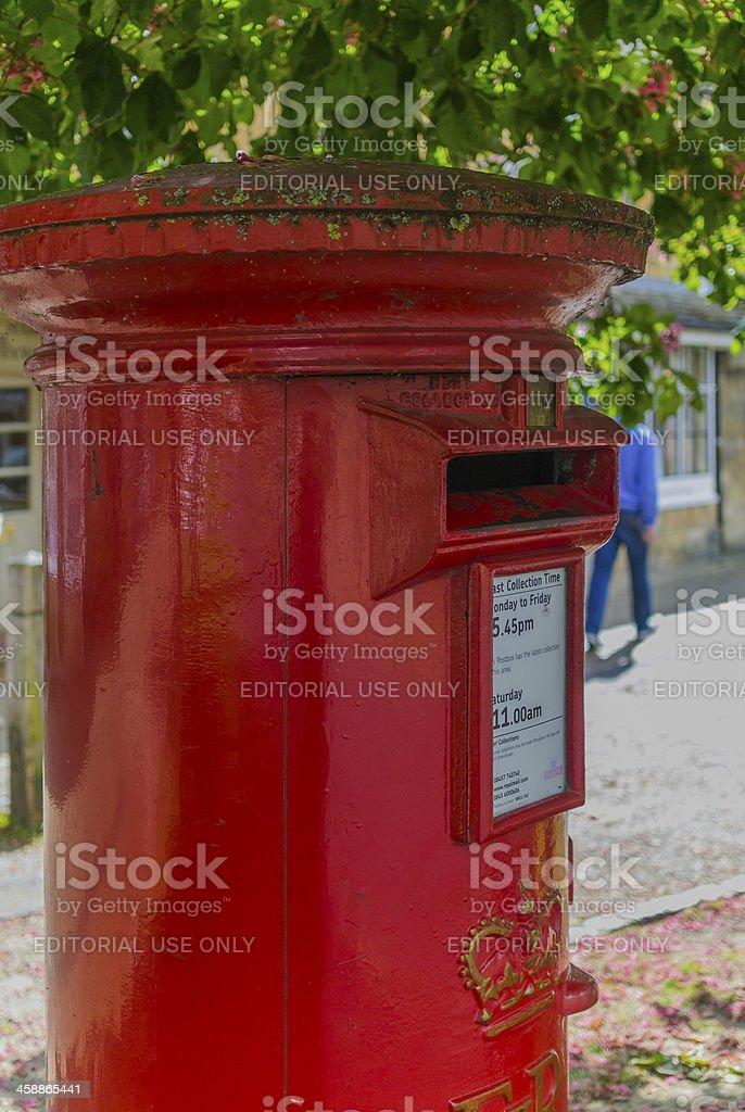 postbox royalty-free stock photo